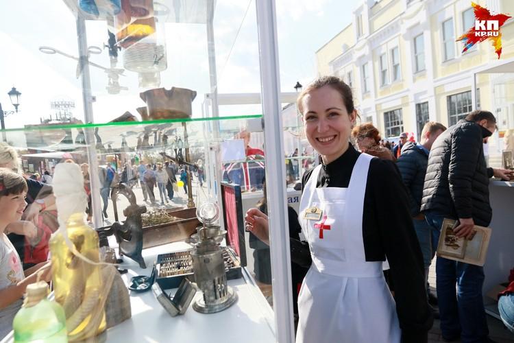 Пешеходную улицу презентовали на праздновании 287-летия Барнаула