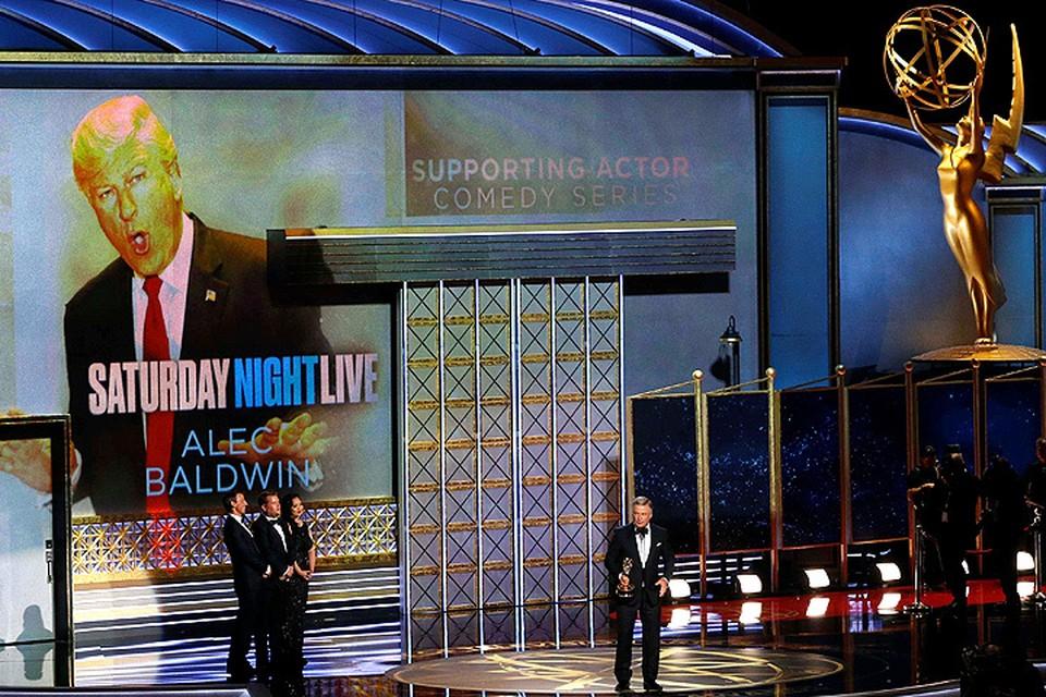 Одним из главных героев вручения наград Эмми стал Дональд Трамп.