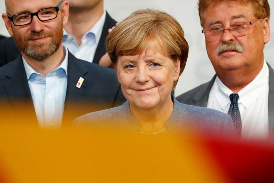 Ангела Меркель остается у руля Германии с 2005 года