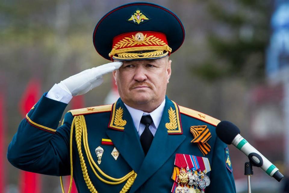 Генерал-лейтенант Валерий Асапов. Фото: минобороны
