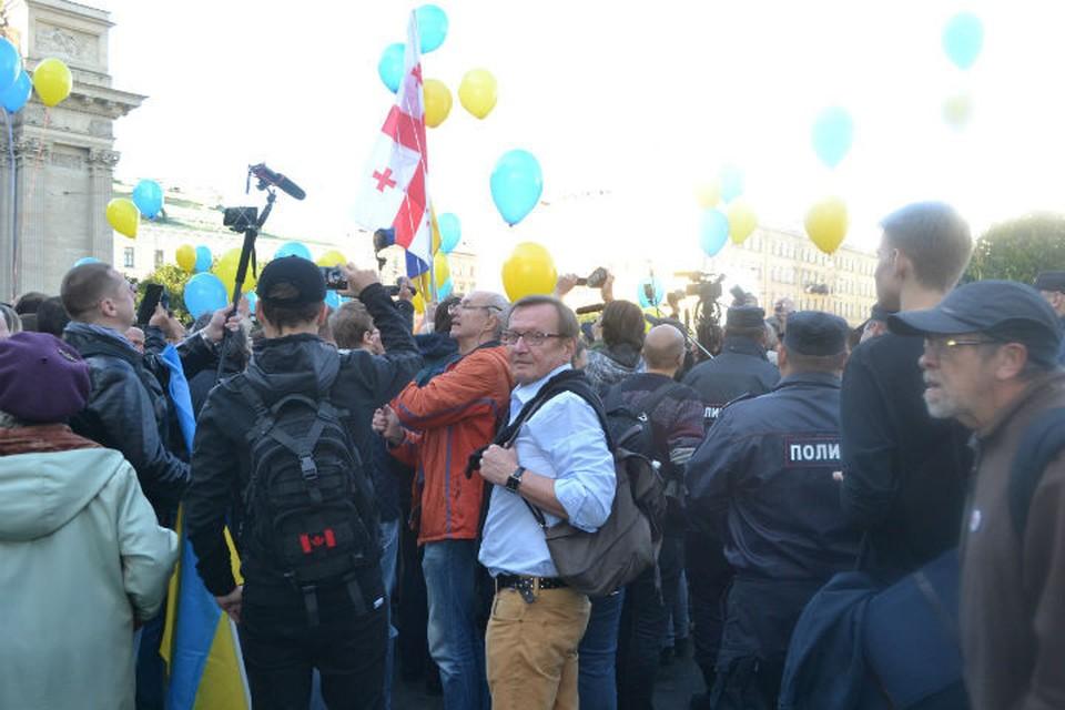 В акции приняли участие около 200 человек. ФОТО: соцсети