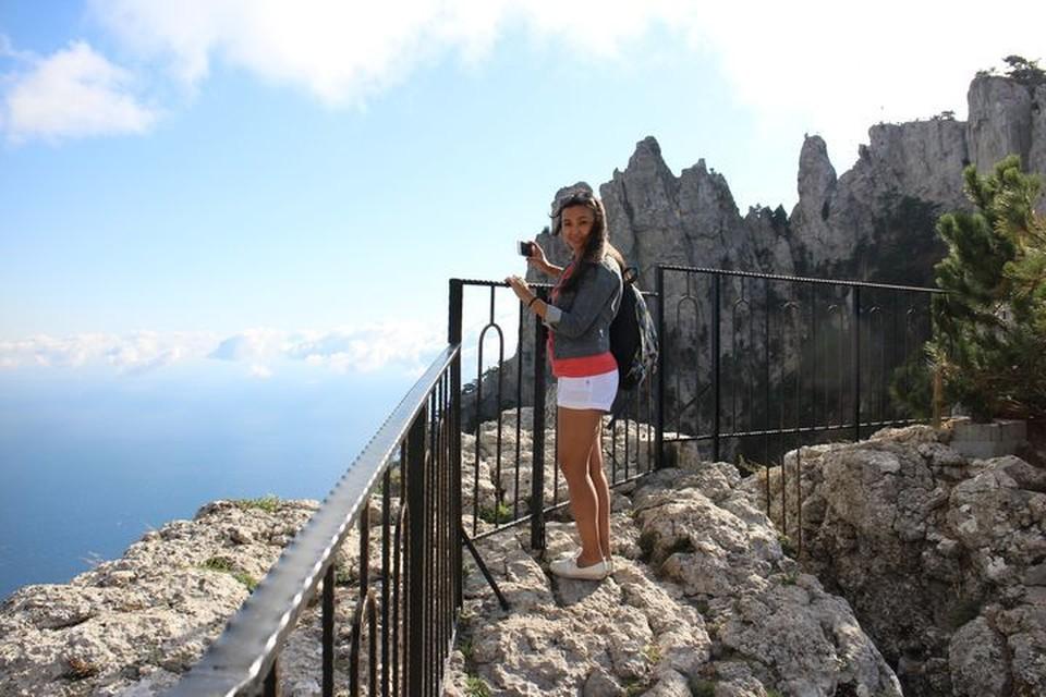 Ай-Петри - место паломничества туристов.