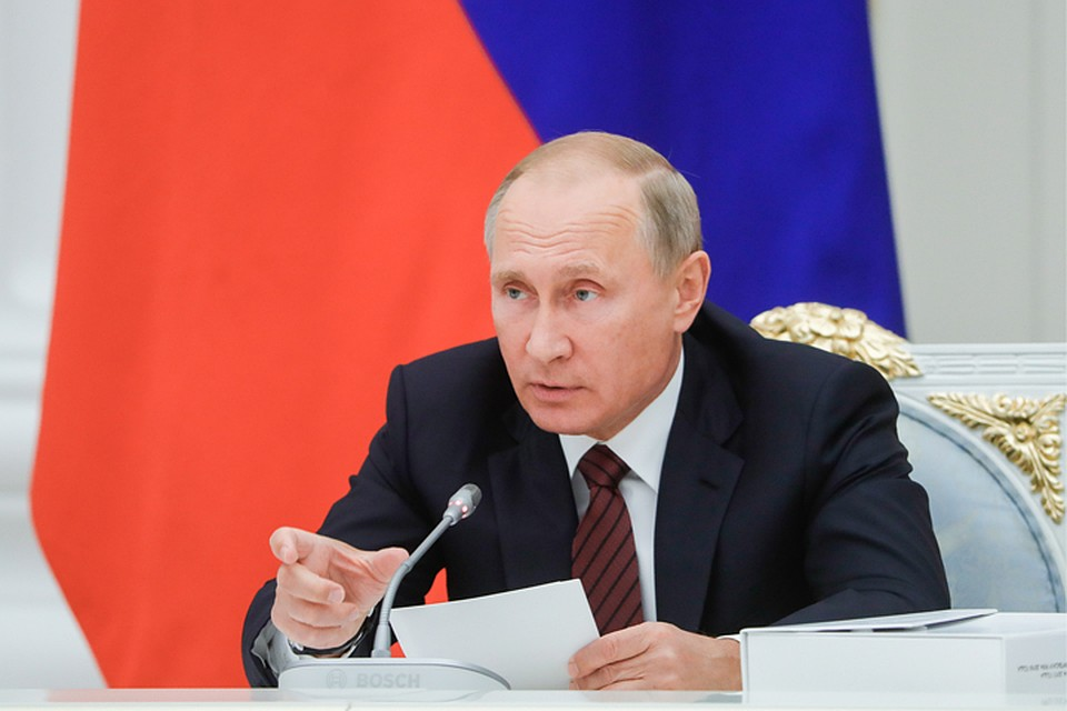 "Владимир Путин похвалил президента клуба ""Зенит"""