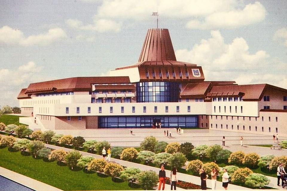 Кампус ПсковГУ должен будет вместить в себя общежитие на 700 студентов, библиотека, гостиница и спортивные объекты