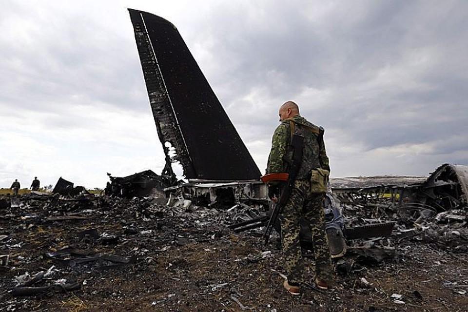 Глава СБУ обвинил «бойцов ЧВК» в уничтожении украинского самолета Ил-76 недалеко от аэропорта Луганска в 2014 году
