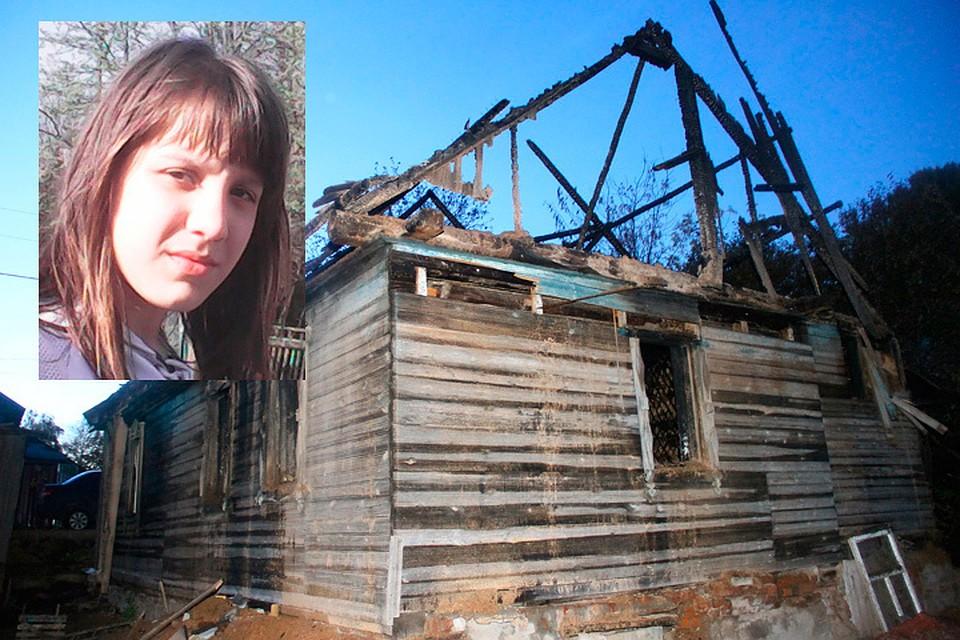 14-летняя девочка вытащила из горящего дома шесть человек.