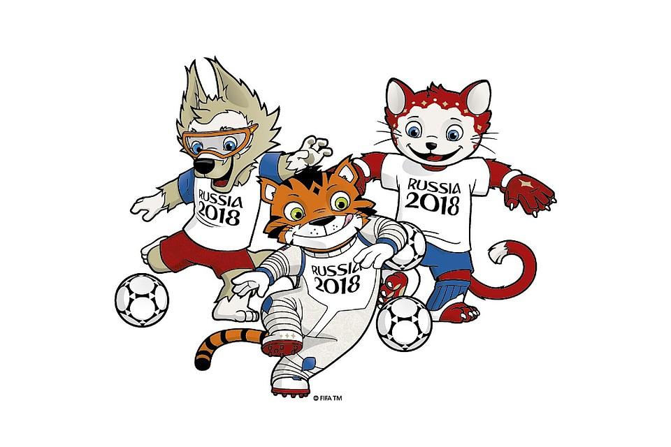 Картинки, картинки к чемпионату мира по футболу 2018 для детей
