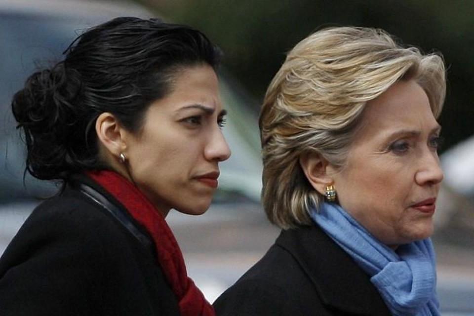 Хума Абедин и Хиллари Клинтон