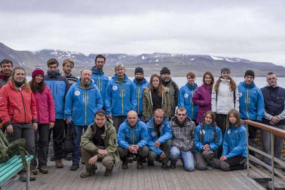 Участники летнего этапа экспедиции Шпицберген-2017. Фото: https://www.aari.ru