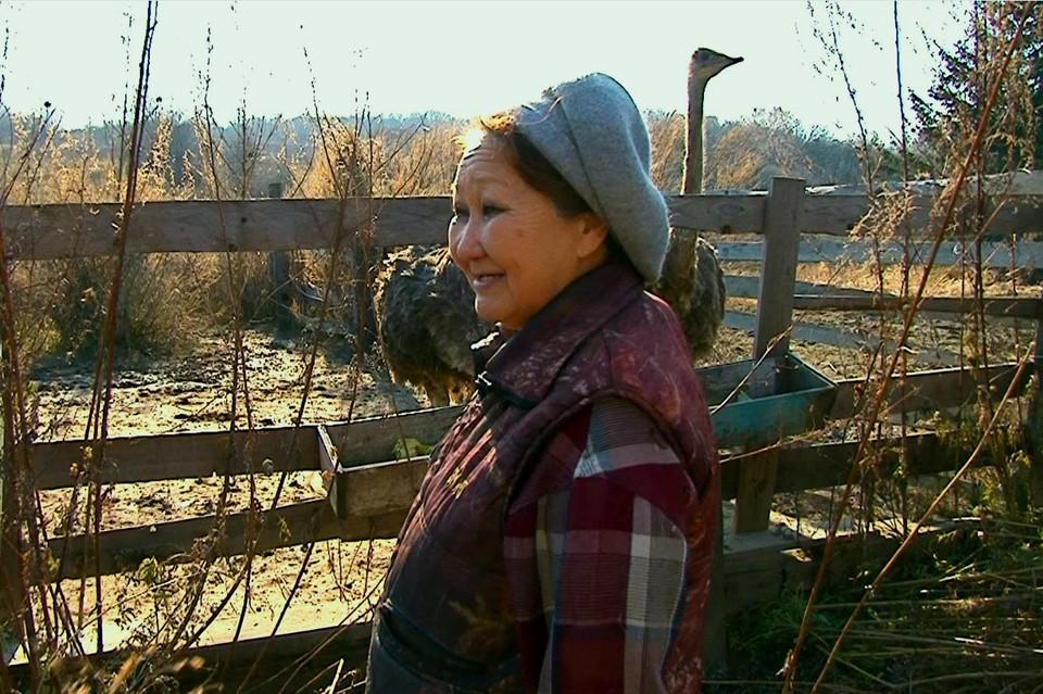 Хозяйка птицефермы Лилия Редькина ранее экспериментировала с арбузами. Фото: предоставлено АРЧК ДВ