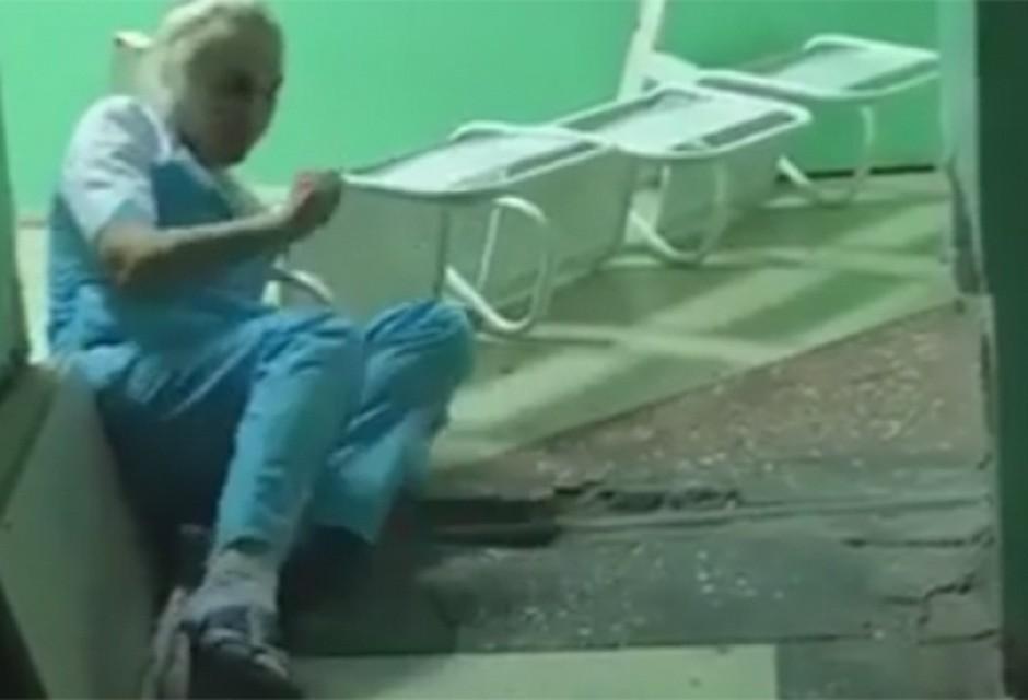 Медсестра заметила стояк