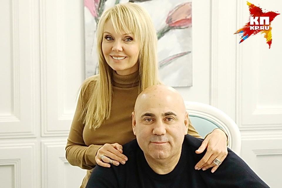 Валерия и Иосиф Пригожин в Воронеже.