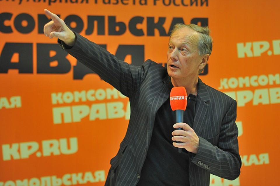 """Михаил Задорнов в редакции """"Комсомольской правды"""""""