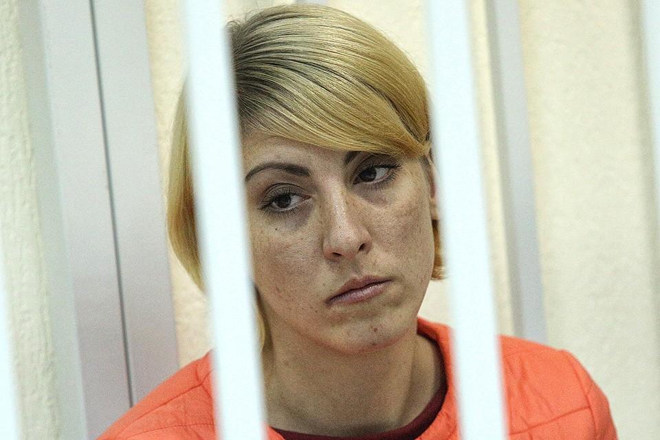 Ольга Алисова в помещении суда. ФОТО Зыков Кирилл/АГН МОСКВА