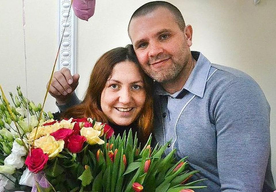 Сергей Сапожников с супругой Эльвирой.