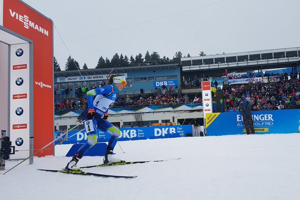 Дарья вернулась к лыжам «Фишер». Фото: ibu.at