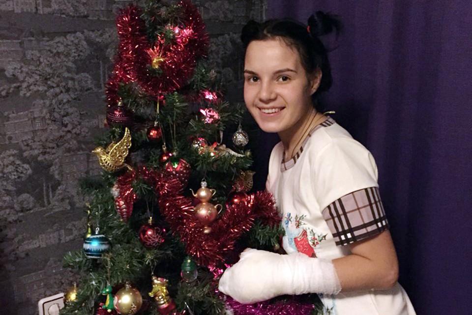 В конце декабря врачи разрешили Рите покинуть больницу и встретить Новый год в кругу семьи