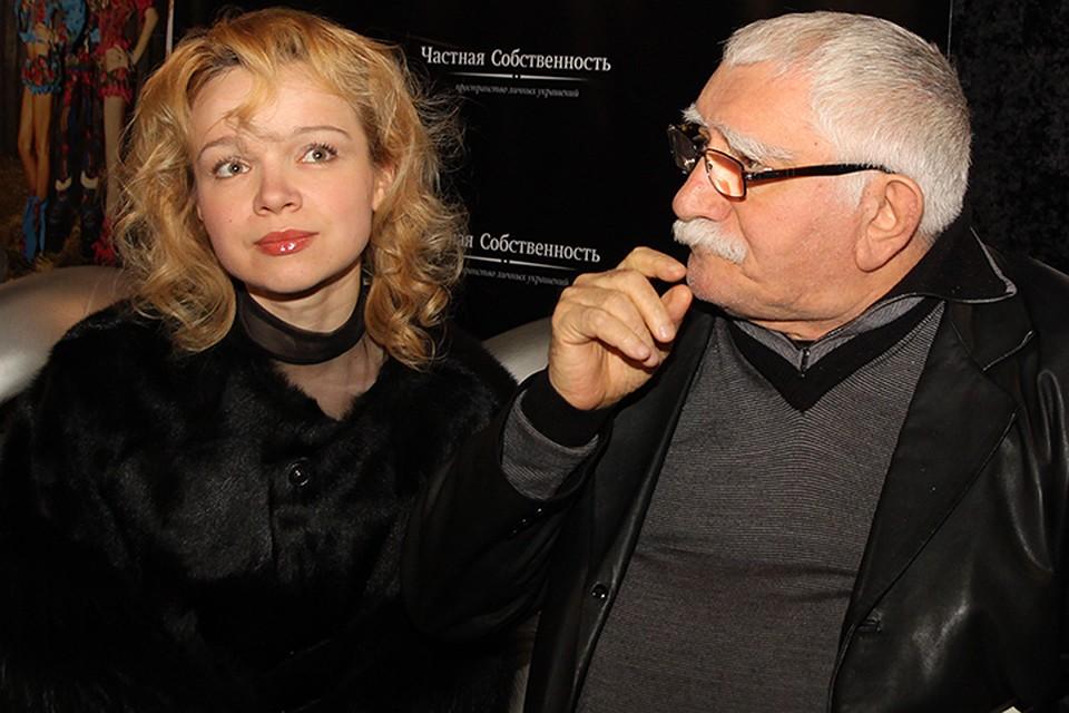 Цымбалюк-Романовская заявила, что найдет возможность заботиться о Джигарханяне