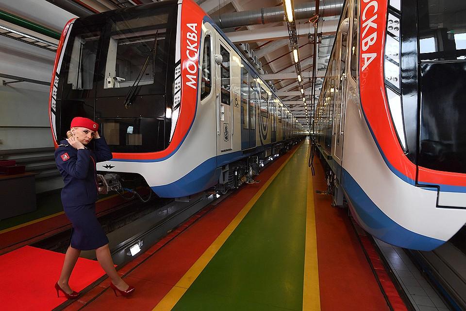 Картинки по запросу В московской подземке появится инновационный тип поезда