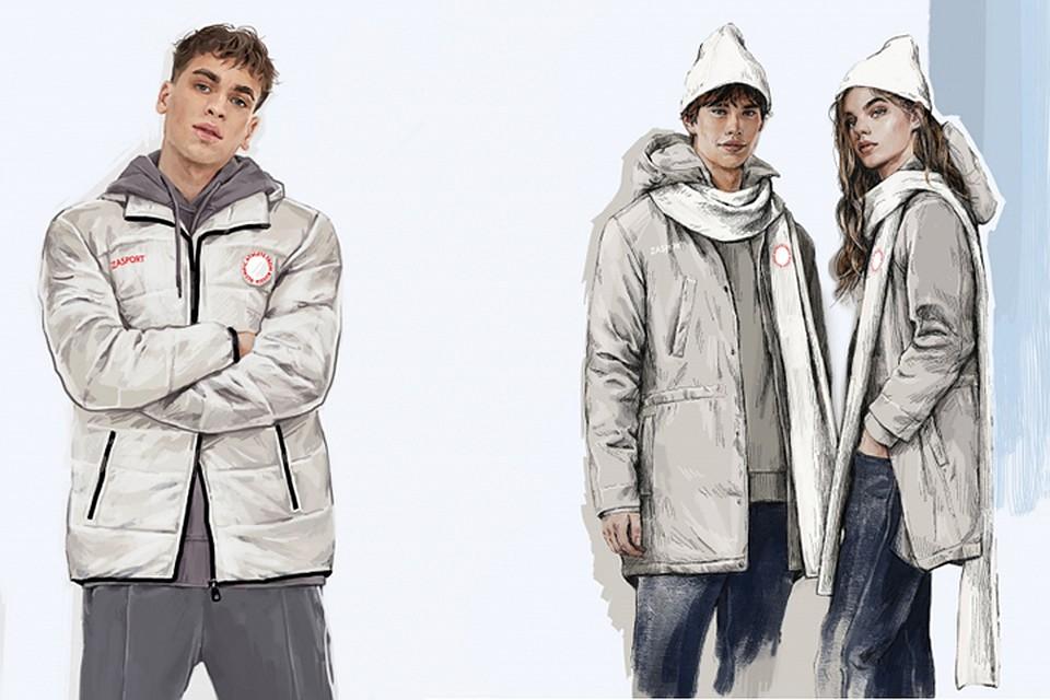 Эти варианты одежды уже направлены на утверждение в МОК. Фото с официального сайта zasport.com