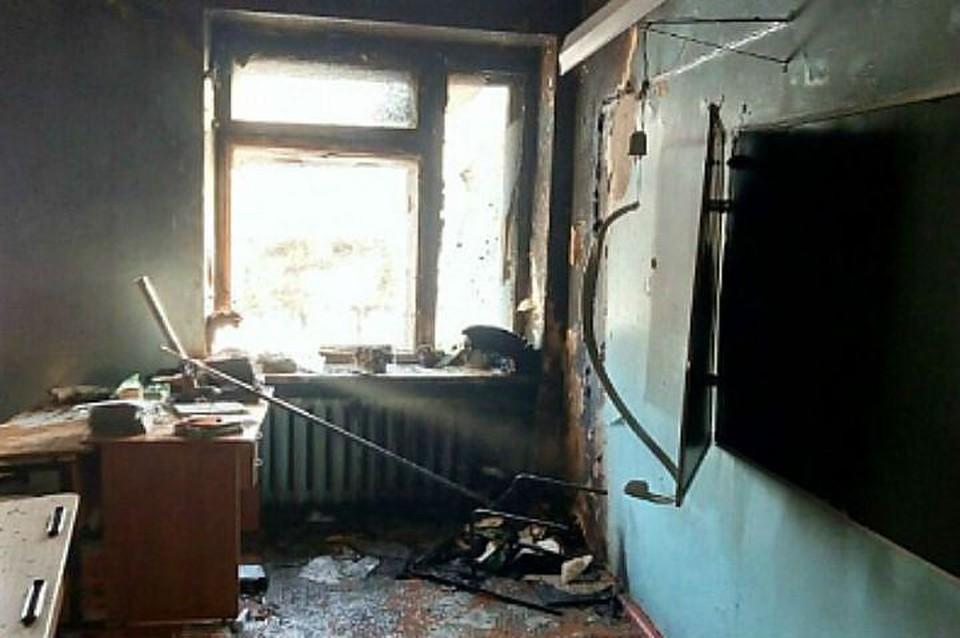 Класс в школе Улан-Удэ, в котором было совершено нападение Фото: СК РФ