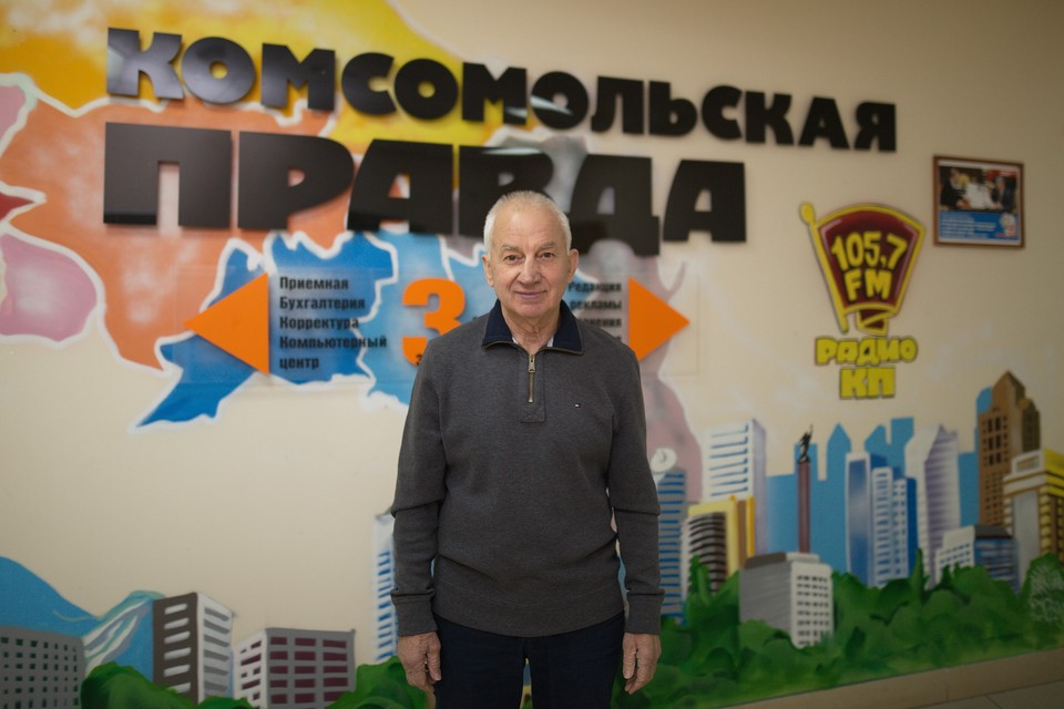 Заслуженный тренер СССР Василий Скакун
