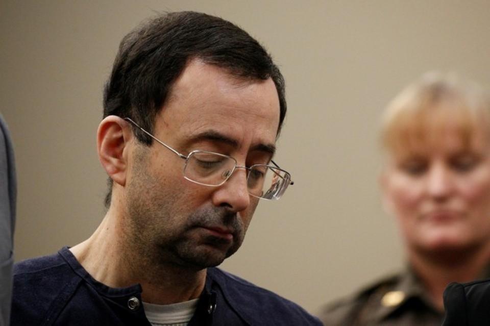 54-летний врач сборной США по спортивной гимнастике Ларри Нассар находится под арестом уже больше года