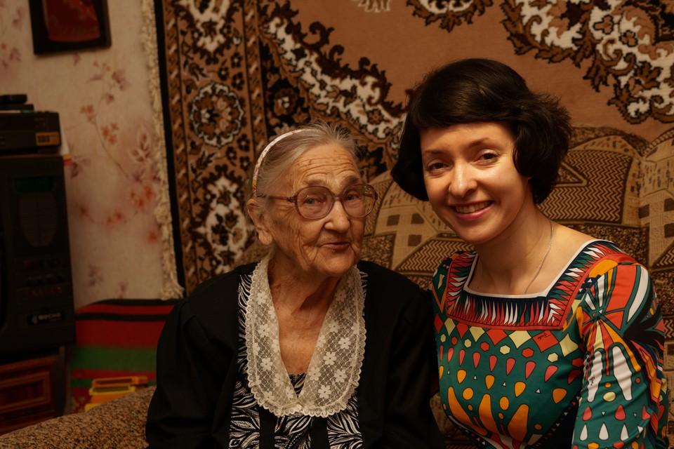 Последняя наша встреча с Лидией Андреевной в Авдеевке в 2014 году.