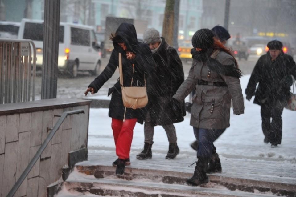 МЧС предупредило москвичей об очень сильном снеге и ветре до 20 м/с