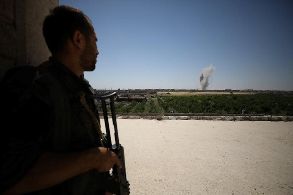 В Сирии коалиция нанесла удар по армии Дамаска