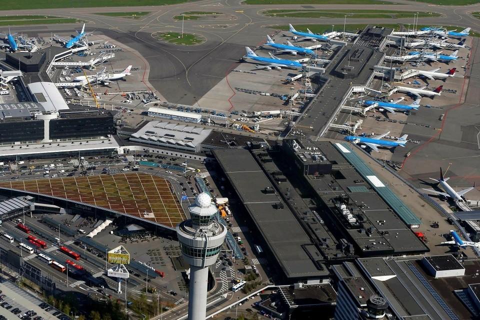 В аэропорту Амстердама произошло возгорание