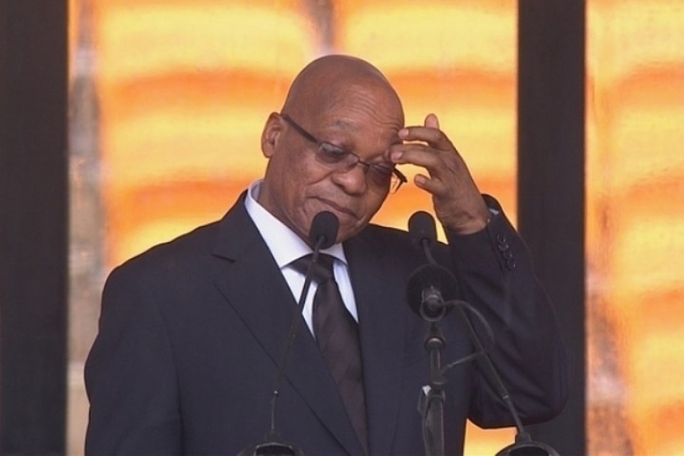 Президент ЮАР Джейкоб Зума