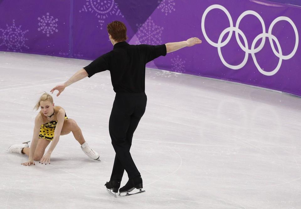 Россияне допустили ошибку во время решающего выступления на Олимпиаде.