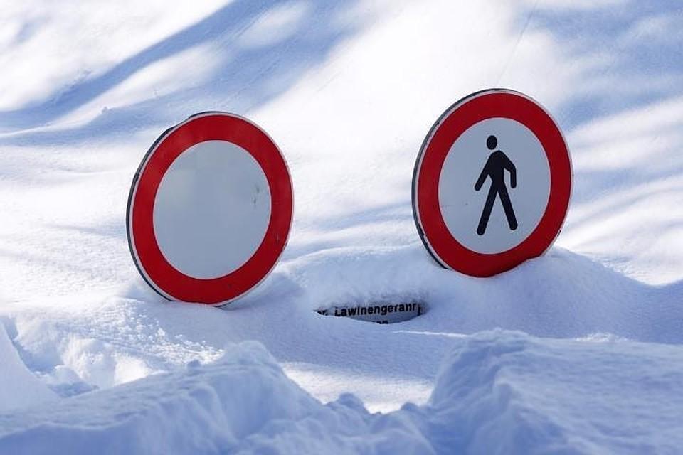Россияне не последовали рекомендациям об избежании зоны схода лавин