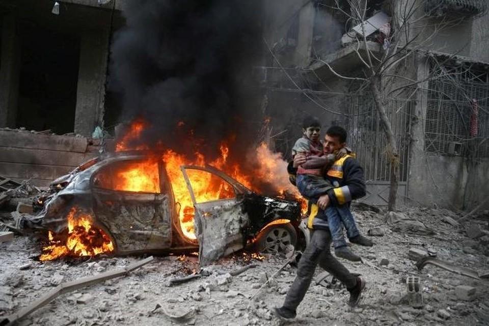 Песков: В Москве крайне обеспокоены ситуацией в сирийской Восточной Гуте