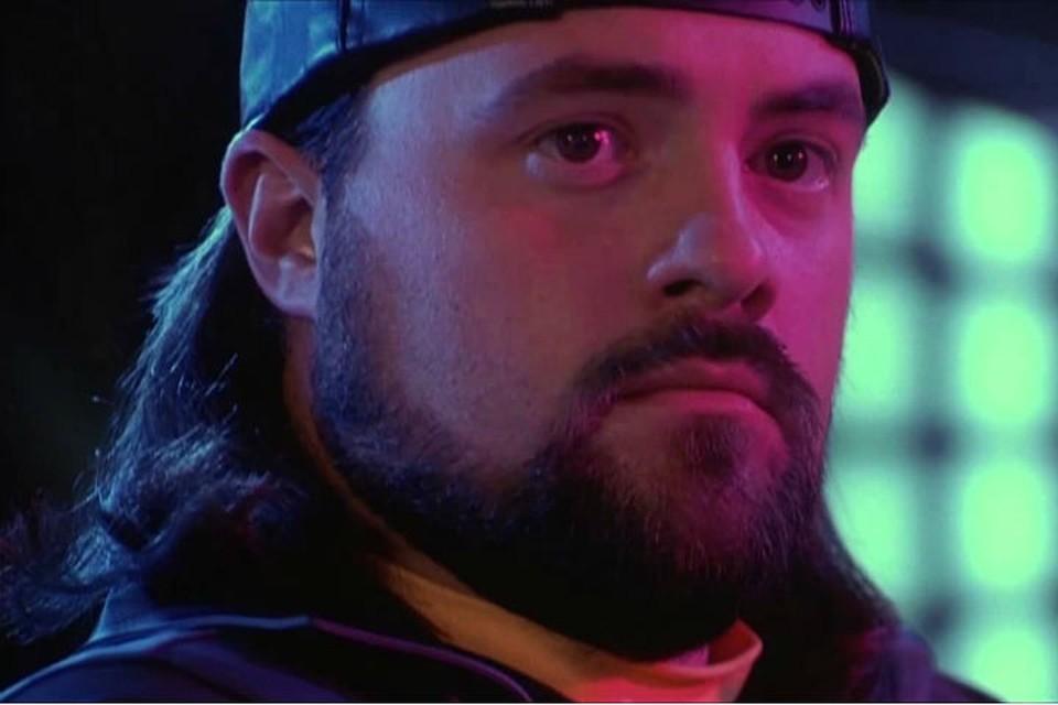 """Кевимн Смит в роли Молчаливого Боба. Фото: кадр из """"Джей и молчаливый Боб наносят ответный удар"""""""