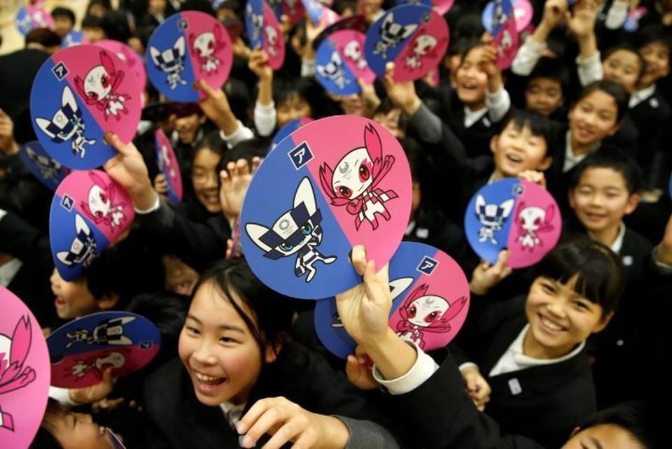 В Токио детям предоставили право выбрать талисманы Олимпиады -2020