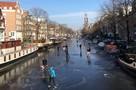 Амстердам на время превратился в город-каток