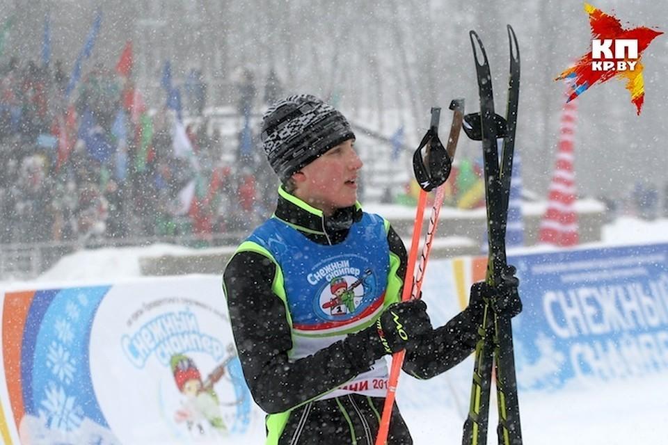 Николай Лукашенко занял на соревнованиях третье место.