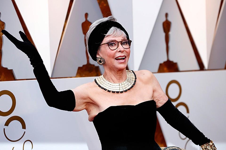 Рита Морено пришла в платье, которое надевала 56 лет назад