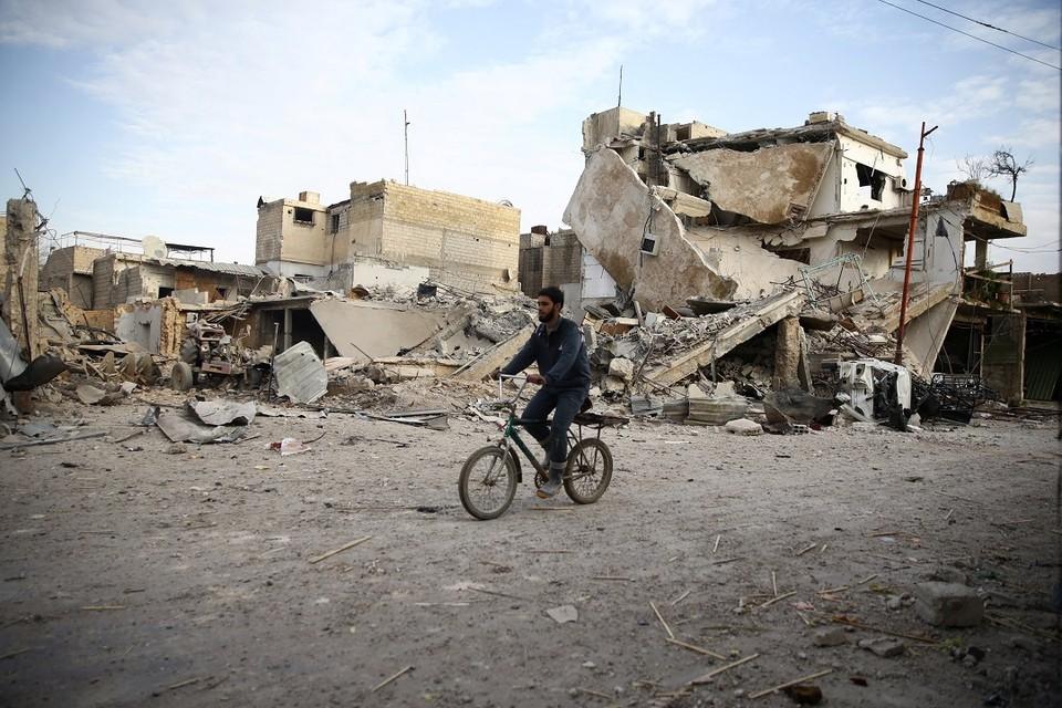 Российское посольство и торговое представительство в Сирии попали под обстрел боевиков из Восточной Гуты