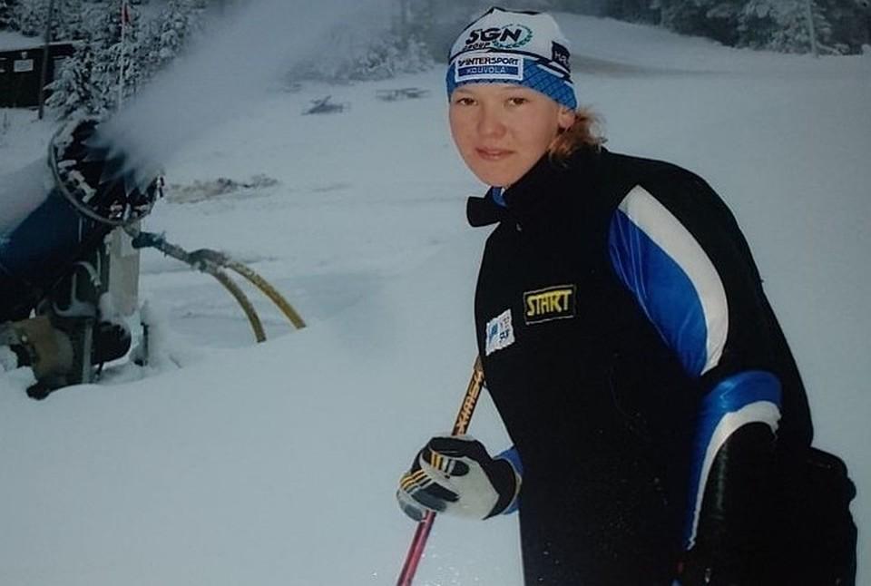 Когда Аня в 2003 году поехала на чемпионат мира и взяла золото практически во всех гонках, ее заметили. Фото: личный архив семьи Милениных