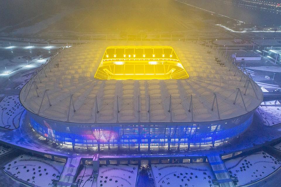 Стадион'Ростов-Арена почти готов к проведению матчей