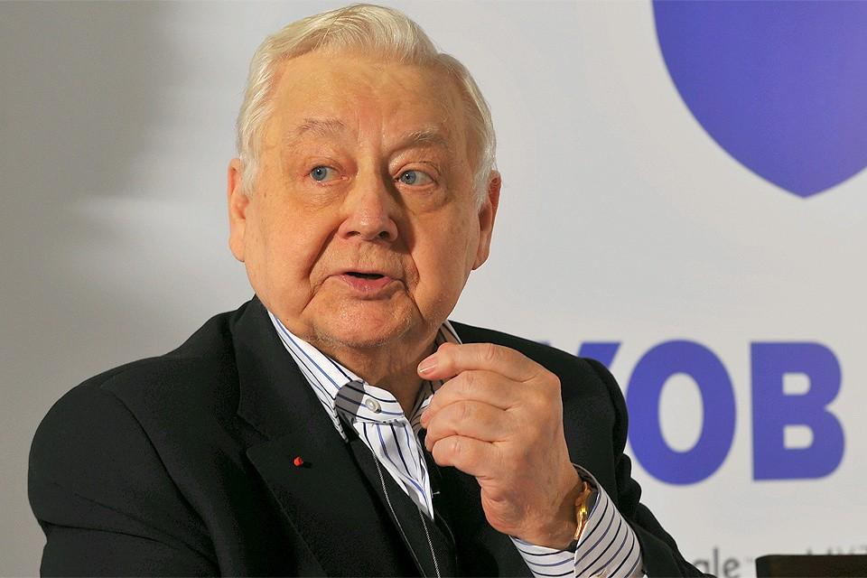 Олег Табаков скончался 12 марта на 83 году жизни после продолжительной болезни.