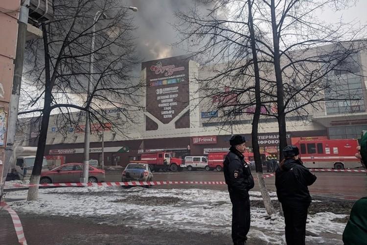 Следственный комитет возбудил уголовное дело по факту гибели детей при пожаре в кемеровском ТЦ