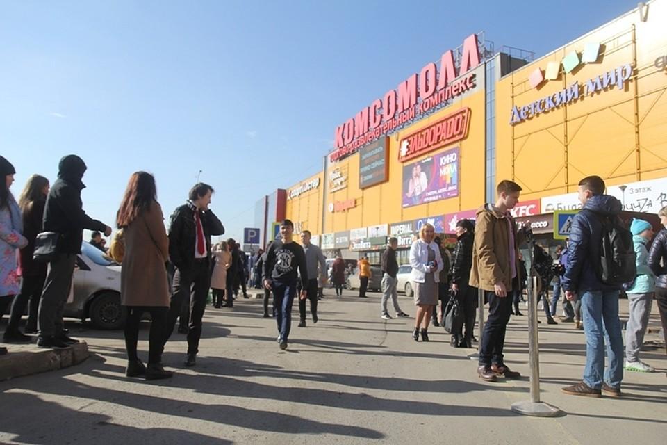 В Иркутске торговые центры, узнав о массовых проверках после пожара в  Кемерове, подготовились 6eb0698366d