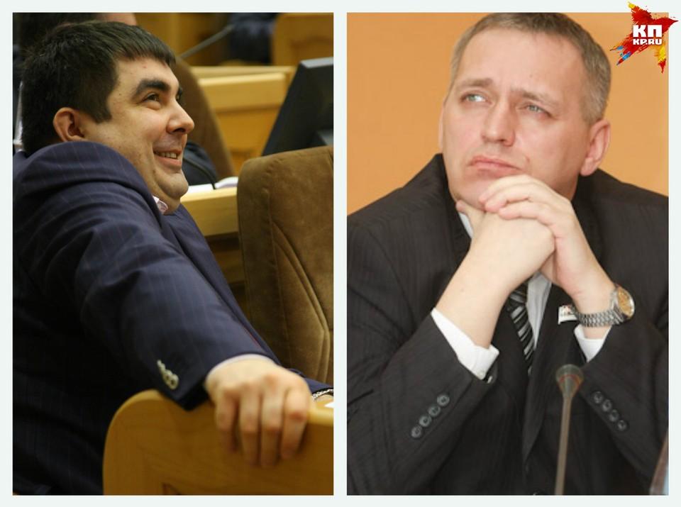 Евгений Шумейко (справа) получил 15 млн рублей за то, что освободил место сенатора, которое занял Самойлов