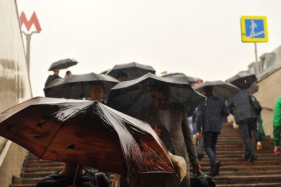 И днем, и ночью в столице будет идти небольшой дождь