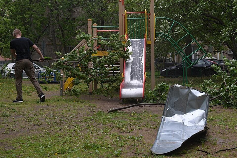 В Москве и Подмосковье ожидается сильный ветер