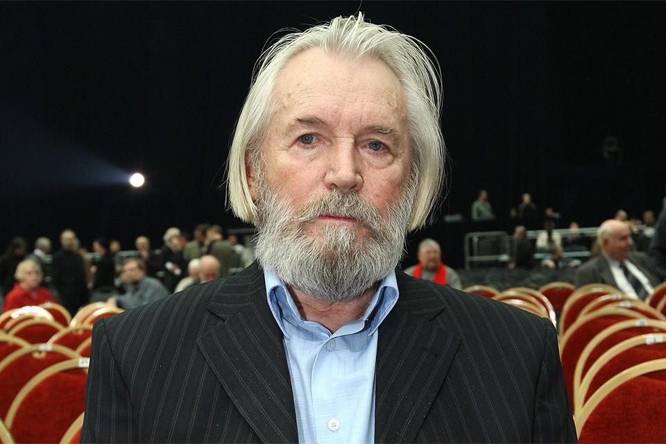 Актер Станислав Любшин на съезде кинематографистов, 2009 год.